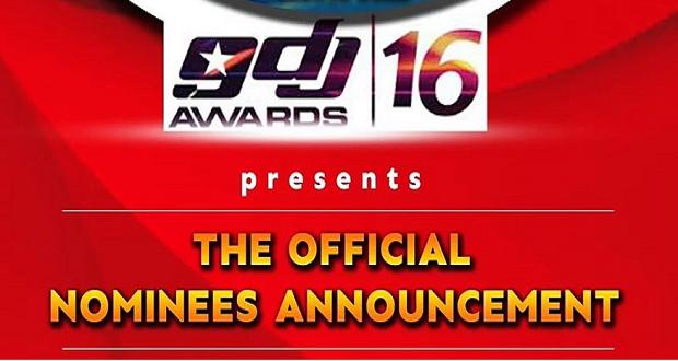 Ghana DJ Awards 2016 Official Nominees List
