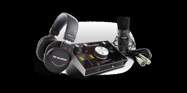 New M-Audio M-Track 2X2 Vocal Studio Pro (Video)