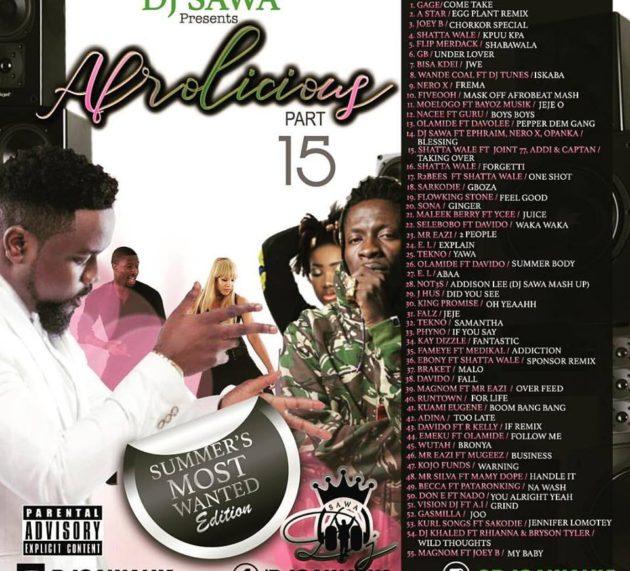 DJ Sawa – Afrolicious (Mixtape)