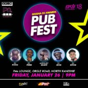 PMs Lounge to host Ghana DJ Awards Pub Fest on January 26