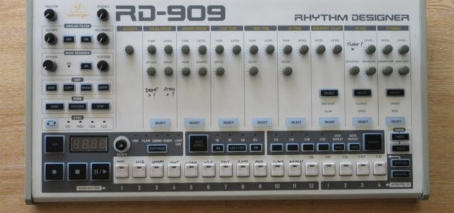The German giants Behringer Now Reveals 909 Clone