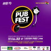 Ghana DJ Awards Pub Fest Launch At T-Havana On Dec 22nd