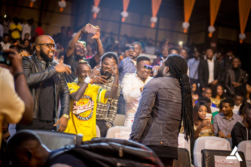 Captain Planet, Patapaa, Dr Ray at Ghana DJ Awards 2018