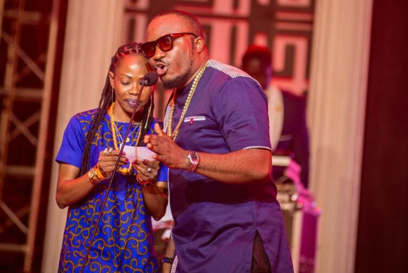 DKB and Abrewa Nana at Ghana DJ Awards 2018