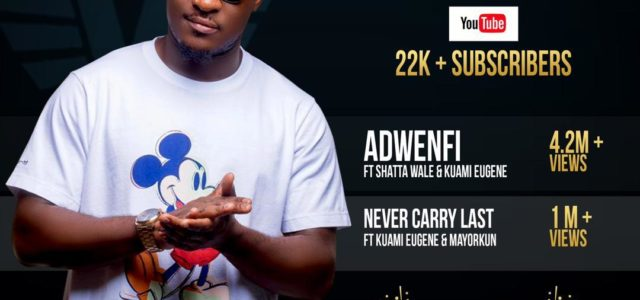 DJ Vyrusky's 'Adwenfi' hits over 4.2 million views on YouTube.