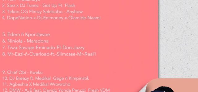 DJ Mpesempese unveils iRed15 Mixtape Volume 1