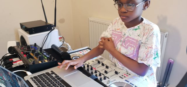 9-year-old DJ Zel hopes to work with DJ Switch