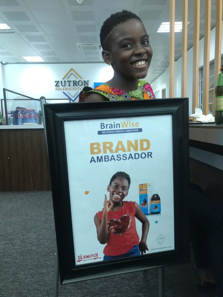 DJ Switch unveiled as face of BrainWise delicious omega-3