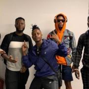 DJ Vyrusky, DJ Mensah, Kuami Eugene, others arrive in London for 'Party in the Park'