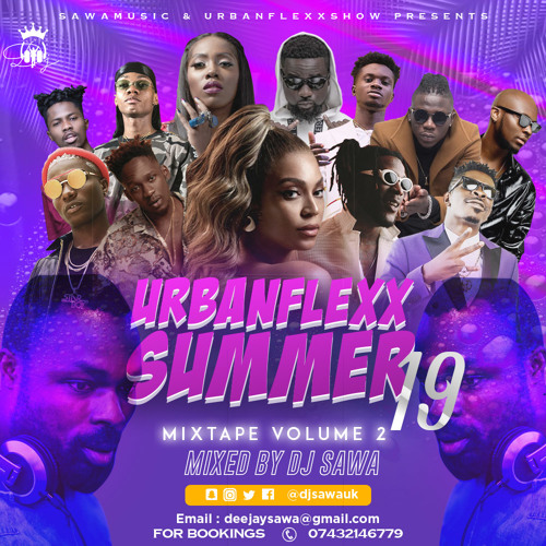 DJ Sawa – Urbanflexx Summer 19 Vol. 2 Mixtape