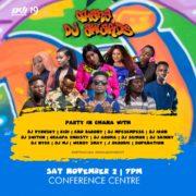 REVEALED: Meet your hosts for 2019 Ghana DJ Awards