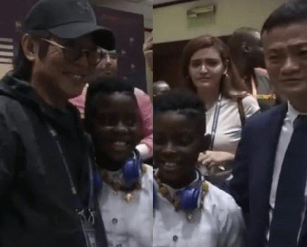 DJ Switch meets billionaire Jack Ma, Jet Li