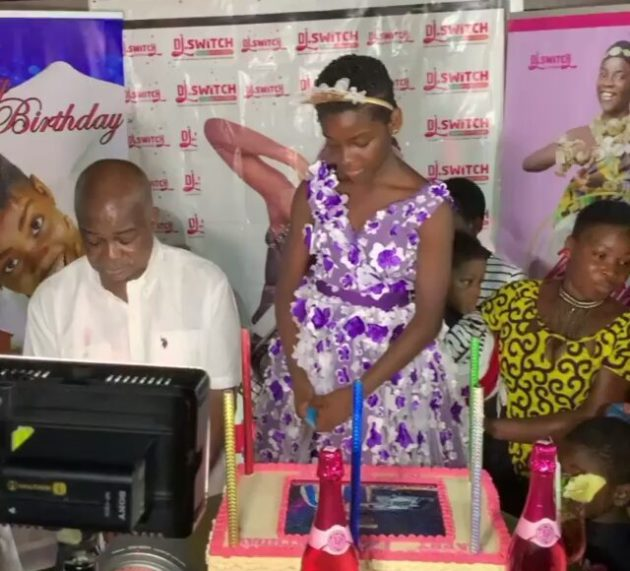 DJ Switch receives scholarship on 12th birthday