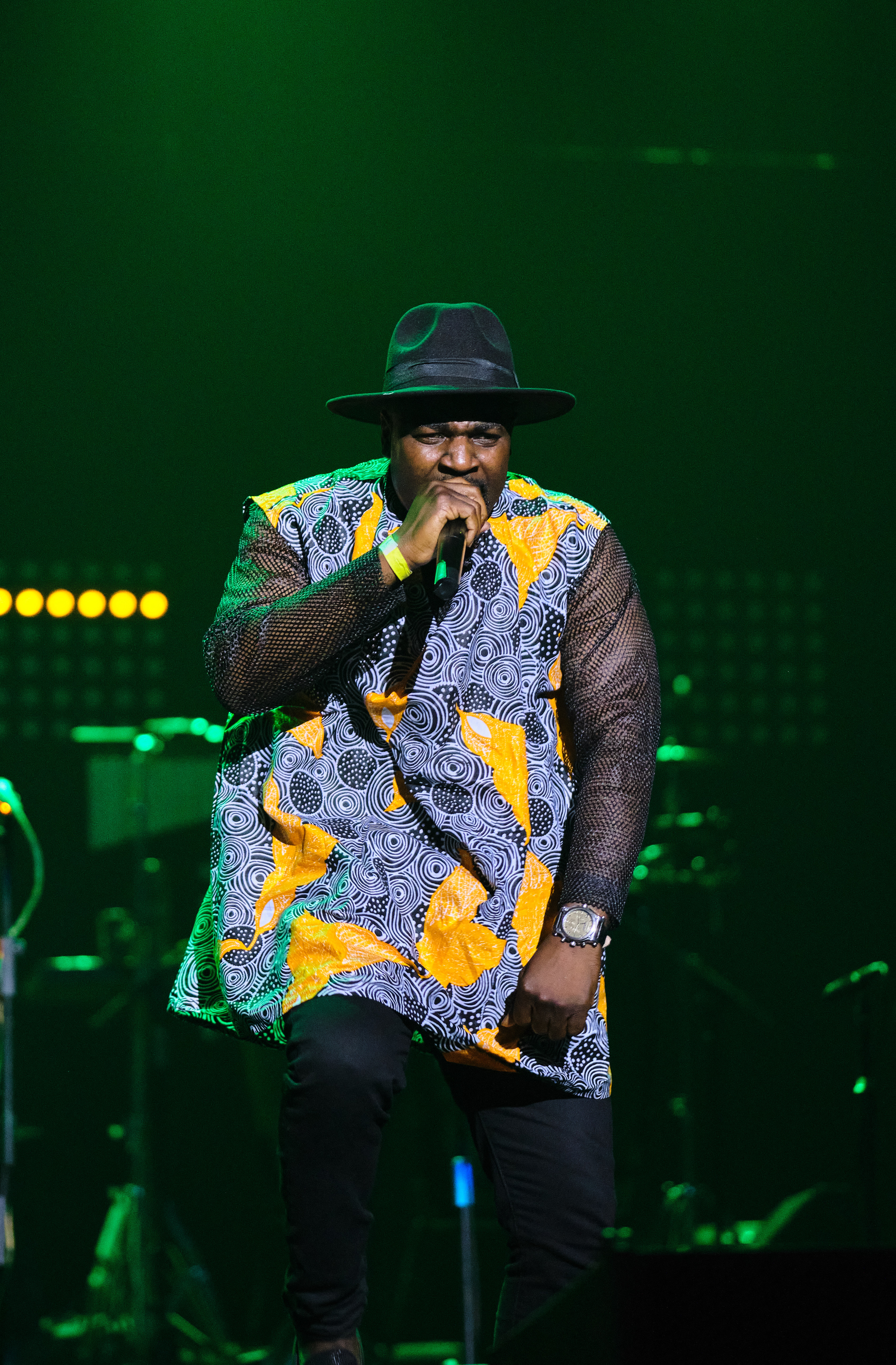 Ghana's finest hypeman